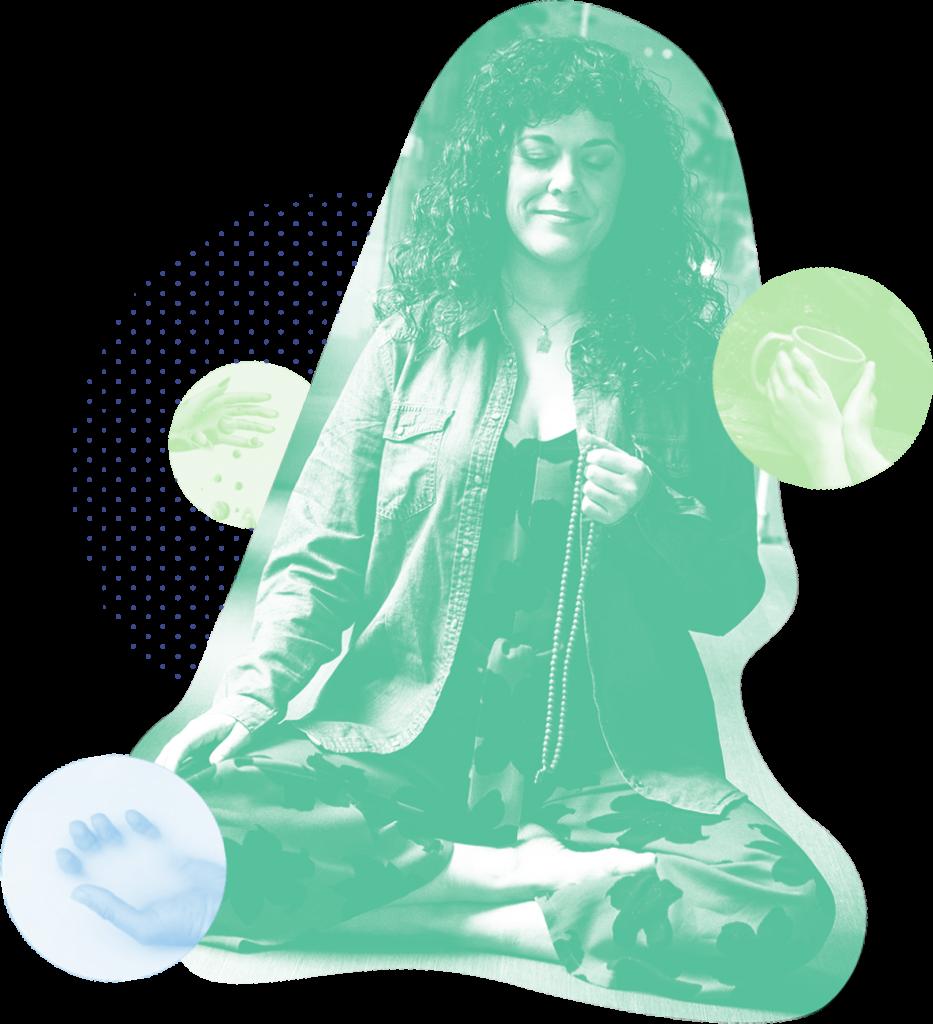 Alba Valle psicóloga creadora de el arte de meditar