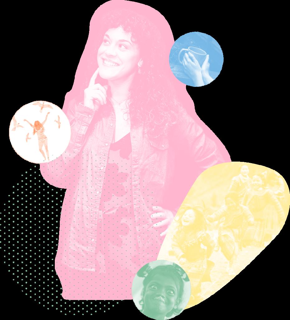 Alba Valle psicóloga experta en Mindfulness y meditación creadora de mindful club